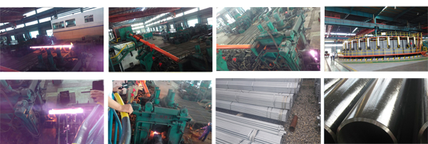 ASTM A106 Seamless Steel Pipe Production